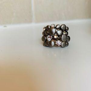 ✾ Beautiful Multi-Stone Bubble Ring ✾